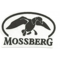 Textile patch MOSSBERG BIRD 8.5cm x 5.5 cm