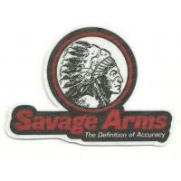 Textile patch SAVAGE ARMS INDIAN 9.5cm x 6.5cm