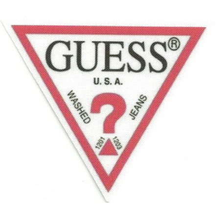 Textile patch GUESS 8.5cm x 7cm Los Parches