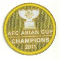 Textile patch AFC ASIAN CUP 2011 8.5cm DIAMETRE
