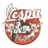 Textile patch VESPA 7,5cm x 8cm