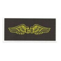 Parche textil GT BICYCLES 9cm x 4.5cm