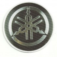 Textile patch YAMAHA LOGO 7cm DIAMENTRE