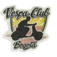 Parche textil VESPA CLUB BOGOTA 8cm x 8cm