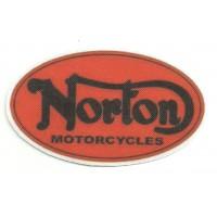 Parche textil NORTON MOTORCYCLES 8.5cm x 5cm