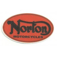 Textile patch NORTON MOTORCYCLES 8.5cm x 5cm