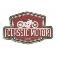 Parche textil CLASSIC MOTOR 10cm x 6.5cm