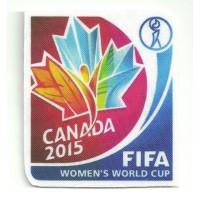 Parche textil CANADA FIFA 2015 6cm x 7cm