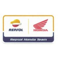 Parche textil REPSOL HONDA 8,5cm x 5cm