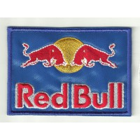 Parche bordado RED BULL 5cm x 3,5cm