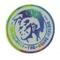 Textile patch DIESEL 5.5cm DIAMETRE