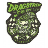 Textile patch DRAGTRIP - ROCKABILLY 6.5cm x 8cm