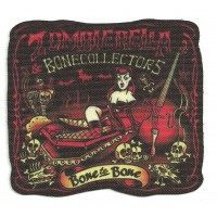 Textile patch ZUMMBIERELLA - ROCKABILLY 9.5cm x 8.5cm