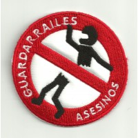Patch embroidery GUARDARRAILES ASESINOS 7cm