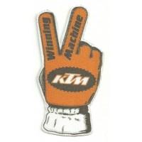 Parche textil KTM MANO 13,5cm x 7cm