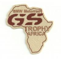 Parche bordado BMW GS TROPHY AFRICA 9cm x 10cm