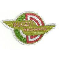 Parche textil DUCATI MECANICA 9cm x 5,5cm