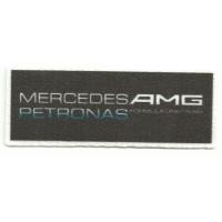 Textile patch MERCEDES AMG 9,5cm x 3,5cm
