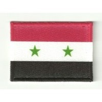 Patch embroidery FLAG SYRIA 7CM x 5CM