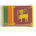 Embroidery and textile patch SRY LANKA 4CM x 3CM