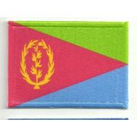 Parche bordado y textil ERITREA 5cm x 3cm