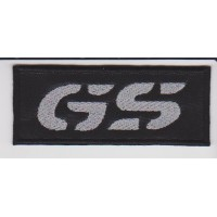 Patch embroidery BMW GS 9cm x 3,7cm