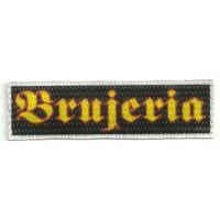 Parche textil BRUJERIA 9cm x 2,5cm