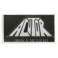 Textile patch ACUTOR 10cm x 5,5cm