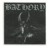 Patch textile BATHORY 9cm x 9cm