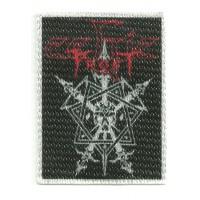 Textile patch CELTIC FROST 5,5CM X 7,5CM