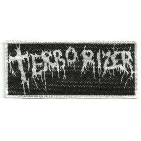 Textile patch TERRORIZER 9cm x 4cm