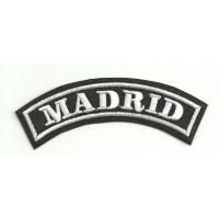 Parche bordado MADRID 25cm x 7cm