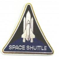 Textile patch SPACE SHUTTLE 9cm x 9cm