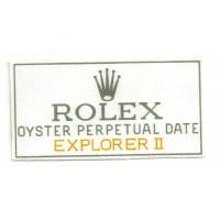 Patch textile ROLEX 11cm x 6cm