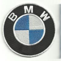 Parche bordado BMW 6cm