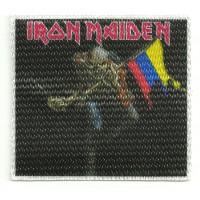 Textile patch IRON MAIDEN BANDERA 7,5cm x 7cm