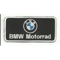 Parche bordado BMW MOTORRAD LOGO 10cm x5cm