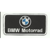 Patch embroidery BMW MOTORRAD LOGO 10cm x 5cm embroidery