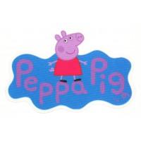 Parche textil PEPPA PIG 10cm x 7cm