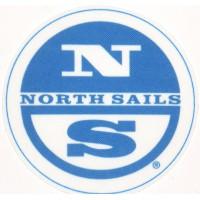 Textile patch NORTH SAILS 6cm