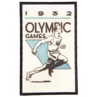 Embroidery and textile patch OLYMPIC GAMES 1932 4,5cm x 7cm