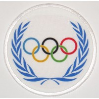 Embroidery and textile patch OLYMPIC 7,5cm