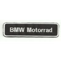 Parche bordado BMW MOTORRAD 12cm x 3cm