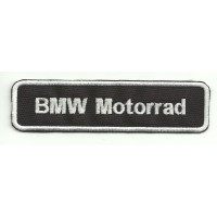 Patch embroidery BMW MOTORRAD 12cm x3 cm