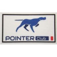 Textile patch POINTER CLUB 9cm x 5cm