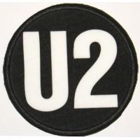 Parche textil y bordado U2 7,5cm