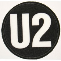 Textile and emmbroidery patch U2 7,5cm