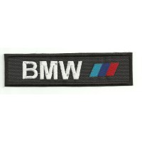 Parche bordado BMW BARRAS 10 cm x 2,7 cm