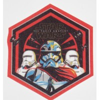 Parche textil STAR WARS THE FORCE AWAKENS 7cm x 7,5cm