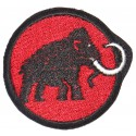 Embroidery patch MAMMUT 5,5cm x 5cm